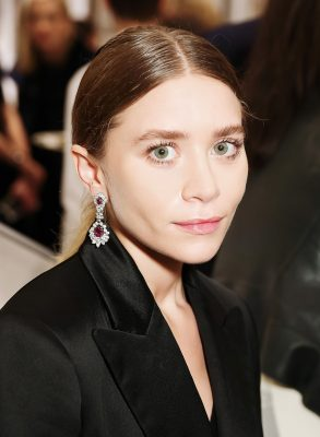 peinados para aretes largos ashley olsen