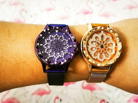 tipos de reloj de mano para mujer