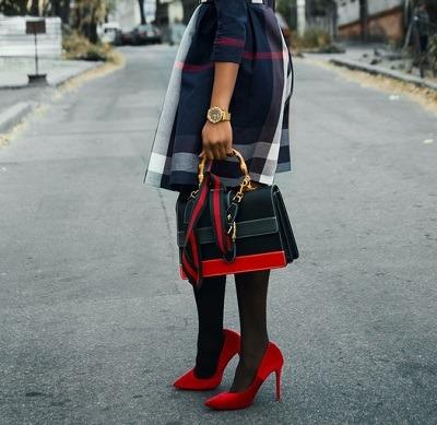 bolsa para dama multicolor