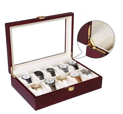 caja para guardar relojes