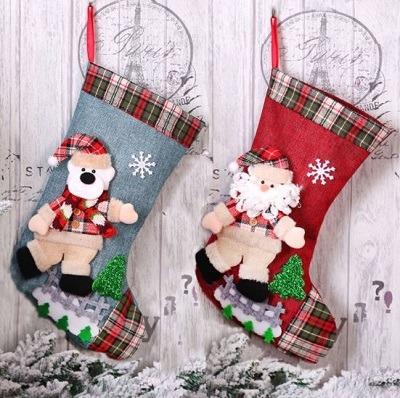 calcetines de navidad para chimenea