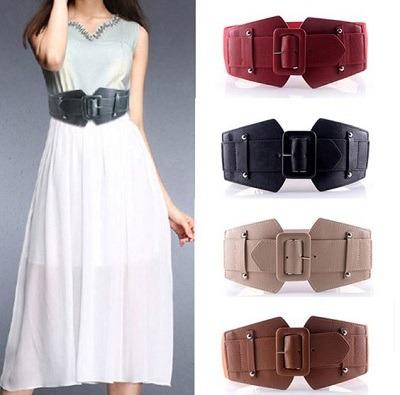 cinturon de mujer ancho