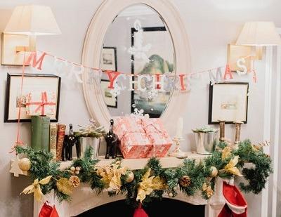 decoracion de navidad en casa
