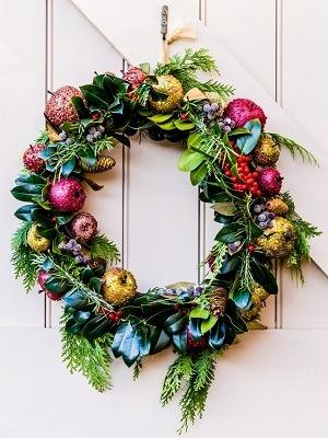 decoracion de navidad para las puertas
