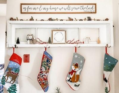 decoracion de navidad salon