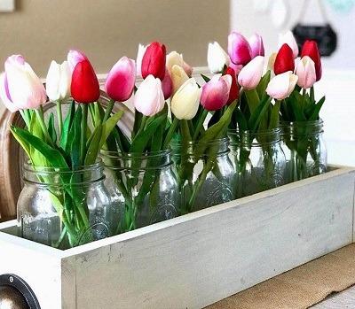 flores artificiales baratas