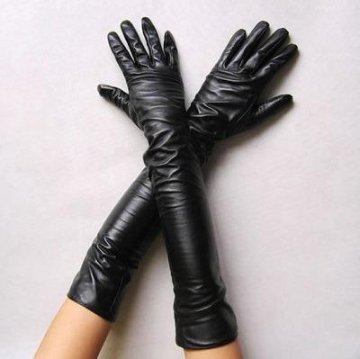 guantes largos de moda