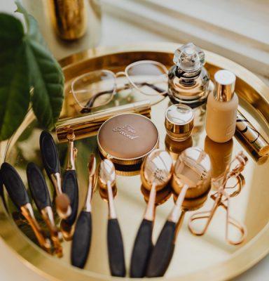ideas para organizar maquillaje