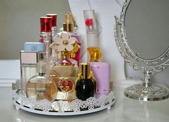 ideas para organizar perfumes