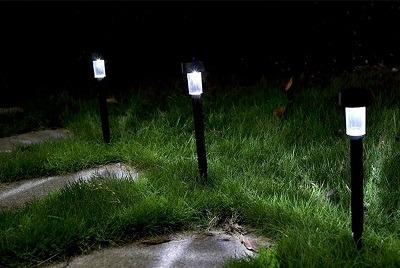 lamparas solares para jardín baratas