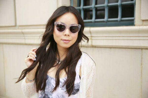 lentes de sol para cara redonda blancos