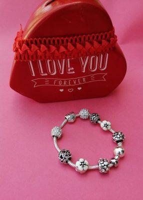 accesorios de moda pulseras plata 925