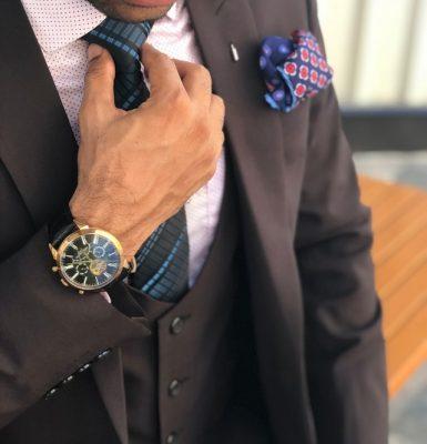 reloj de mano para hombres